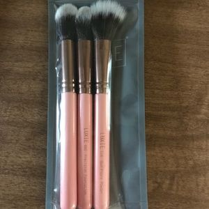 Luxie Rose Gold Brush Set
